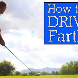 How to Hit Driver Further Than You Currently Are Today (Vertical Line Swing)