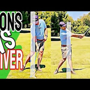 Golf IRONS Vs DRIVER | Get Your Golf Swing Basics Dialed In For Amazing Improvement