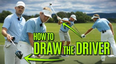 GOLF: How To Hit A Draw With A Driver