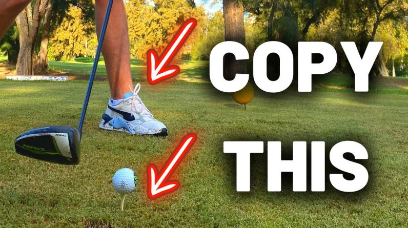 The SECRET to INCREDIBLE ball striking with driver! This is a MUST WATCH!!