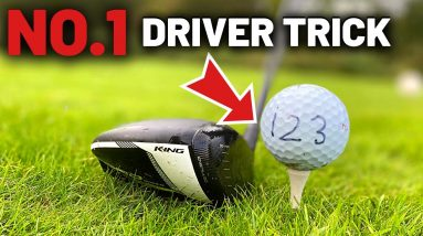 No 1 Trick all Golfers SHOULD use with DRIVER!